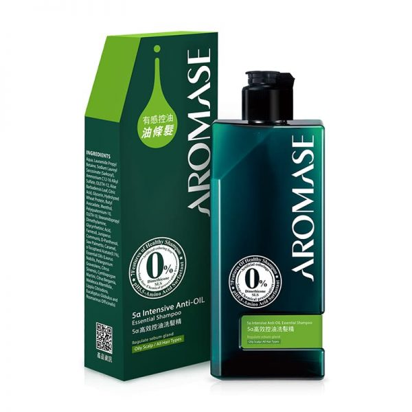 5α Intensive Anti-Oil Essential Shampoo 90 ml Aromase 2