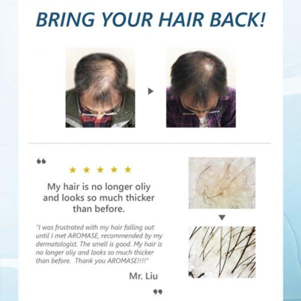Anti-Hair Loss Essential Shampoo 400 ml Aromase 3