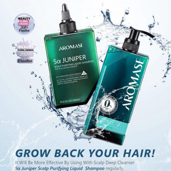 Anti-Hair Loss Essential Shampoo 400 ml Aromase 5