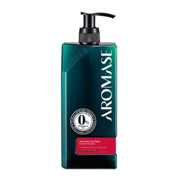 Anti-hair Loss Rose Essential Shampoo 400ml Aromase UK opti