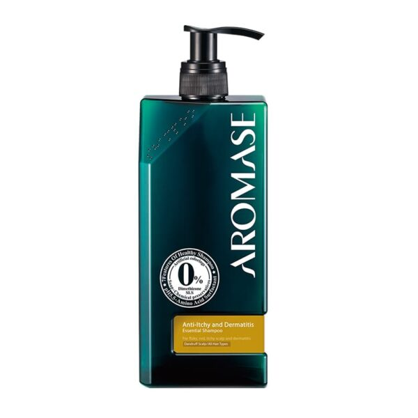 Anti-itchy and Dermatitis Essential Shampoo 400ml Aromase UK opti